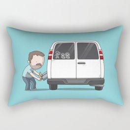 Family Car Sticker Rectangular Pillow