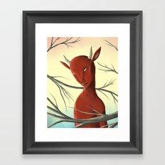 Satyre Framed Art Print