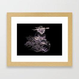 Voodoo Turtle Framed Art Print