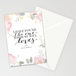Song of Solomon 3:4 Stationery Cards