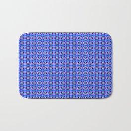 Blue Tile Bath Mat