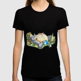 Ghibli forest illustration T-shirt