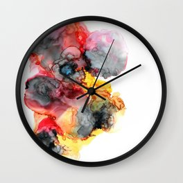 Finding The Sunshine Despite The Storm Wall Clock