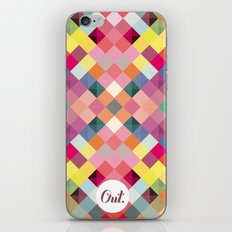 out square iPhone & iPod Skin