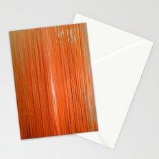 ORANGE STRINGS Stationery Cards