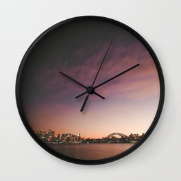 Cremorne Point Wall Clock