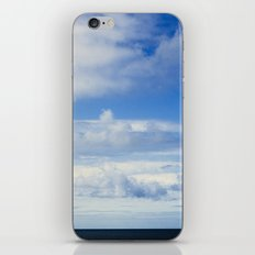 Blue horizon iPhone & iPod Skin