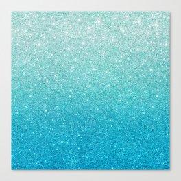 Ombre glitter #13 Canvas Print
