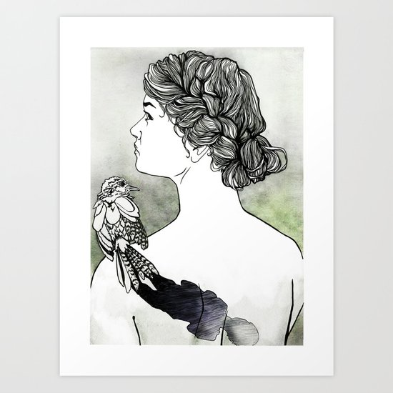 Dream 3: The Wounded Soul Art Print