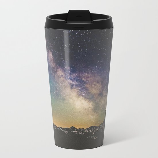 Milky Way IV Metal Travel Mug