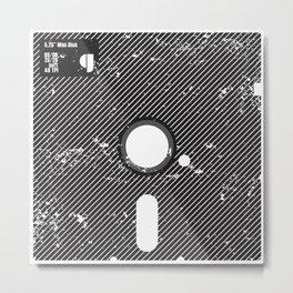 5-25MiniDisk Metal Print