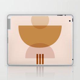 Amber Abstract Half Moon 3 Laptop & iPad Skin