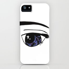 Galaxy Gaze iPhone Case