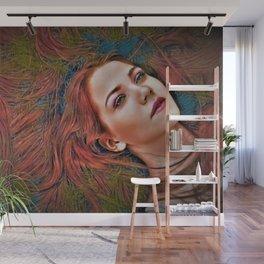 "All Night Forever ""Female Portrait"" by Jeanpaul Ferro Wall Mural"