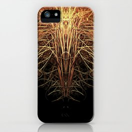 Essence of Gold iPhone Case