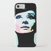 posters iPhone & iPod Cases featuring Audrey Hepburn Posters by Creativehelper