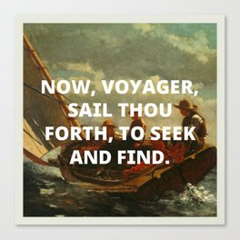 voyager Canvas Print