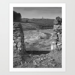Pathway To A Memorial Art Print
