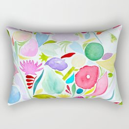 Garden in Giverny Rectangular Pillow