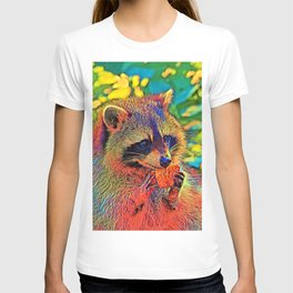 AnimalColor_Raccoon_004_by_JAMColors T-shirt