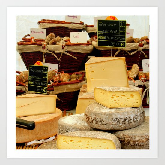 Fromage Art Print