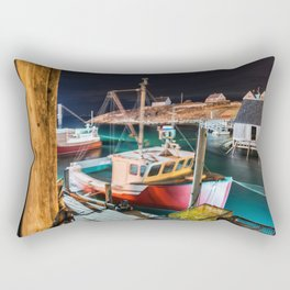 Peggy's Cove by Night Rectangular Pillow