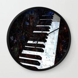 Piano Modern art Wall Clock