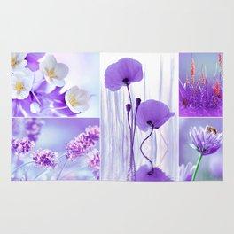 Collage Spring Violet 101 Rug
