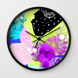Neon Sugar Wall Clock