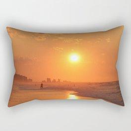 Sunrise on Myrtle Beach Rectangular Pillow