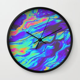 TALKING TO MYSELF AT NIGHT Wall Clock