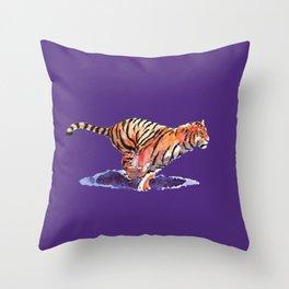 The Tiger Throw Pillow