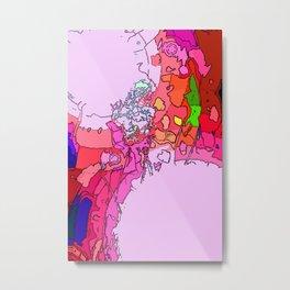 Destruction of the Rainbow (Dorothy's Lament) Metal Print