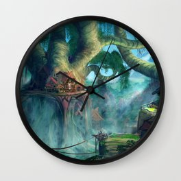 Lost Civilization Wall Clock