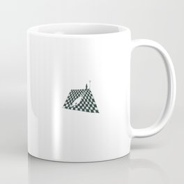 White Shadow-sketch Coffee Mug