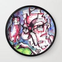 birdman Wall Clocks featuring Birdman by 5wingerone