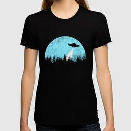 Cyan UFO T-shirt
