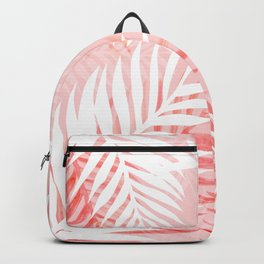 Tropical bliss - coral Backpack