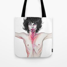 Lizard king , Jim Mo Tote Bag