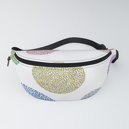 Big & Little Circles (new coloring) Fanny Pack