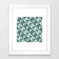 pyramids Framed Art Print