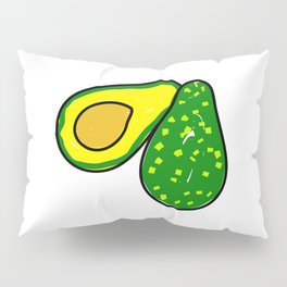 Avocado Fruit Pillow Sham
