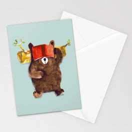 No Care Bear - My Sleepy Pet Stationery Cards