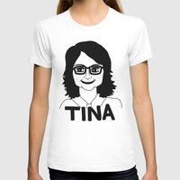 tina T-shirts featuring Tina Fey by Flash Goat Industries
