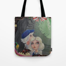 Hansel and Gretel Find the House Tote Bag