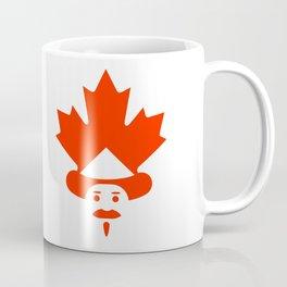 Unique Canadian man icon Coffee Mug