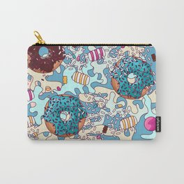 Sweet Blue Camo Carry-All Pouch