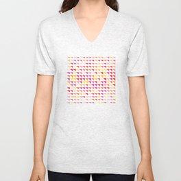 fete triangle pattern Unisex V-Neck