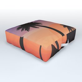 a widow to paradise Outdoor Floor Cushion