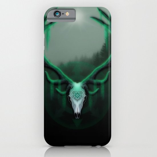 Wild Horns iPhone & iPod Case